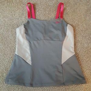 Girls Nike grey tank top